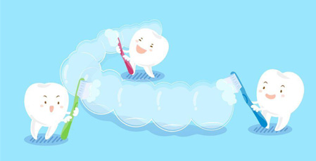 How to make the most eficient storage invisalign